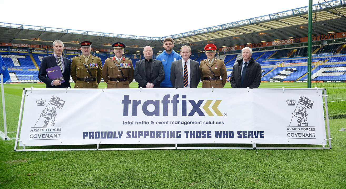 traffix sign the armed forces covenant